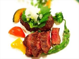 水戸 レストラン イイジマ『常陸牛ステーキ&ハンバーグ』