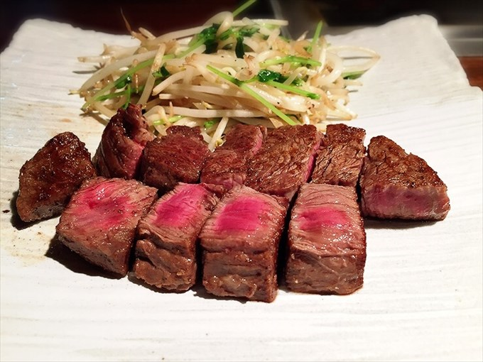 水戸 ステーキ しらかわ『常陸牛ステーキ』